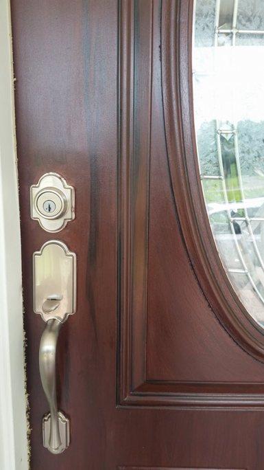 mahagony-door